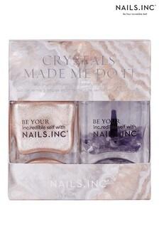 NAILS INC Nail Polish Duo Crystals Made Me Do It