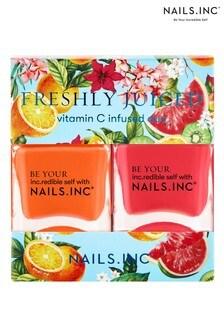 NAILS INC Nail Polish Duo Freshly Juiced