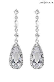 Jon Richard Classic Pear Drop Earrings