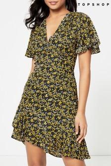 Topshop Ditsy Floral Dress