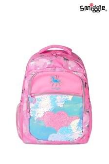 Smiggle Pink Lunar Backpack