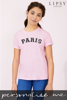 Personalised Lipsy City Kid's T-Shirt by Instajunction