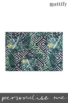 Mattify Tropical Print Doormat