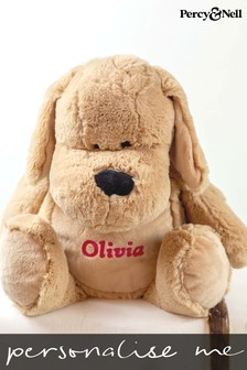 Personalised Cuddly Dog By Percy & Nell