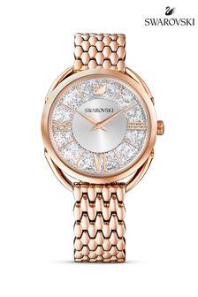 Swarovski Rose Gold Plated Crystalline Glam Watch
