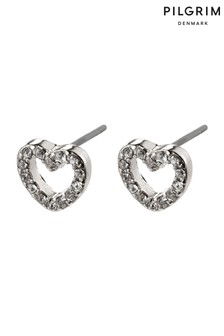 Pilgrim Silver Edie Plated Crystal Earring
