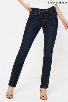 Topshop Regular Leg Low Rise Jean