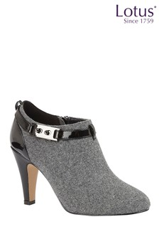 Lotus Footwear Grey Shoe Boot