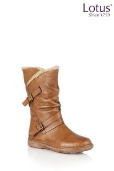 Lotus Footwear Brown Casual Boot