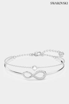 Swarovski Silver Infinity Bangle