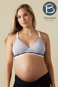 Bravado Grey Original Nursing Bra