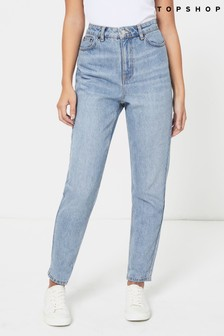 Topshop Short Leg Mom Jeans