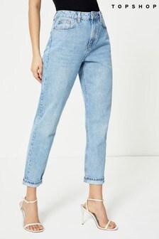 Topshop Regular Leg Mom Jeans