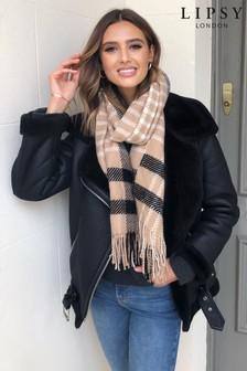 Lipsy Multi Check Scarf