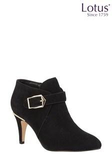Lotus Shoe Boots