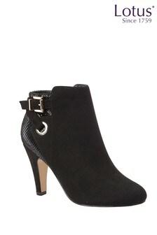 Lotus Footwear Black Boot