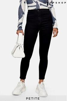 """Topshop Black Petite Joni Skinny Jeans 28"""" Leg"""
