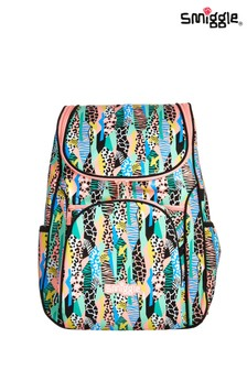 Smiggle Spot Print Illusion Reflective Access Backpack
