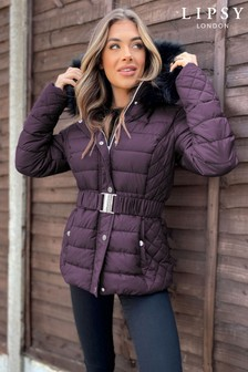 Lipsy Quilted Padded Jacket