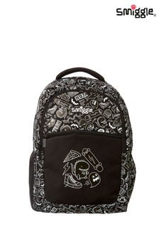 Smiggle Black Neat Backpack