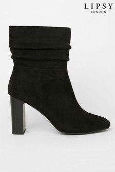 Lipsy Slouch Heeled Boot