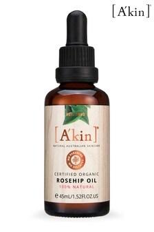 A'kin Certified Organc Rosehip Oil 45ml