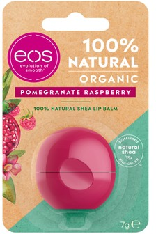 EOS Organic Pomegranate Raspberry Lip Balm 7g