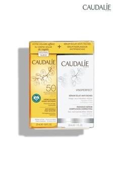 Caudalie Vinoperfect Serum and Suncare SPF 50 Duo