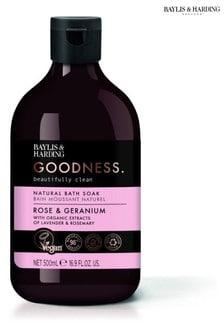 Baylis & Harding Goodness Rose & Geranium 500ml Bath Soak