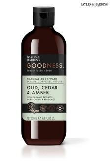Baylis & Harding Goodness Oud, Cedar & Amber 500ml Body Wash