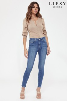 Lipsy Blue Sculpt And Shape Jeans