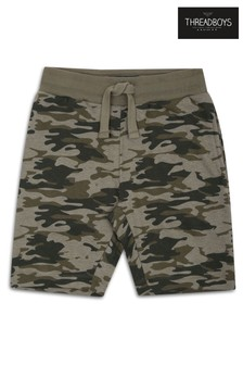 Threadboys Camo Tracksuit Shorts