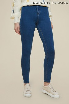 Dorothy Perkins Blue Lyla Skinny Jeans