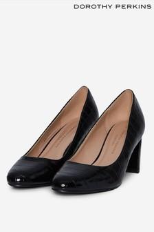 Dorothy Perkins Black Denver Court Shoe