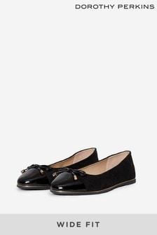 Dorothy Perkins Black Wide Fit Pumps