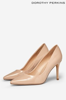 Dorothy Perkins Nude Court Shoe