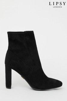 Lipsy Heeled Sock Boot