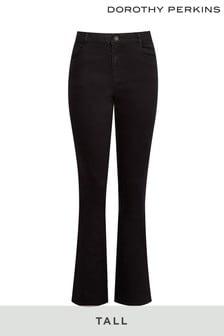 Dorothy Perkins Black Tall Ellis Bootcut Jeans