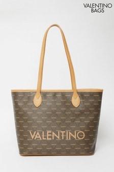 Valentino Bags Brown Liuto Tote Bag