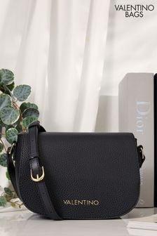 Valentino Bags Black Superman Sadle Crossbody Bag