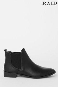 Raid Black Chelsea Ankle Boot