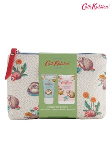 Cath Kidston Gardeners Club Cosmetic Pouch 30ml Hand Cream and 15ml Hand Sanitiser
