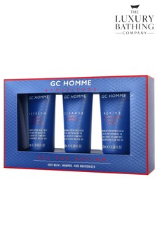 The Luxury Bathing Company All the Action Mens Gift Set