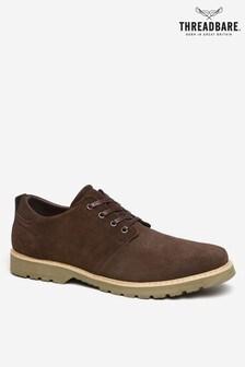 Threadbare Brown Derby Shoe