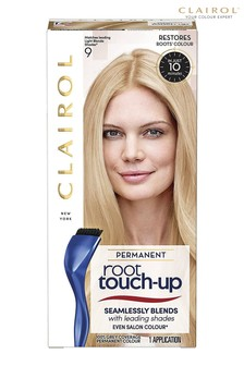 Clairol Root Touch-Up Permanent Hair Dye, 9 Light Blonde, Long-lasting Intensifying Colour with Full Coverage and Easy Application, 30m