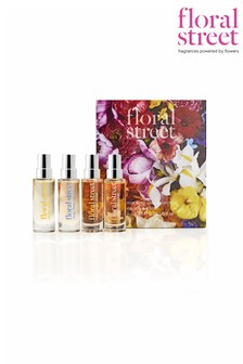 Floral Street Mockney Sass Collection 4 x 10ml Eau de Parfum Limited Edition (Worth £96)