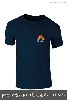 Personalised Rainbow Kids T-Shirt by Gift Collective