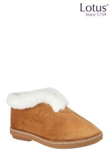 Lotus Footwear Neutral Textile Slippers