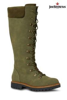 Joe Browns Green Wilderness Boots