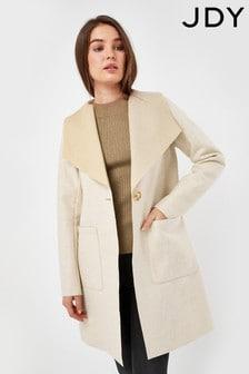 JDY Cream Lightweight Coat